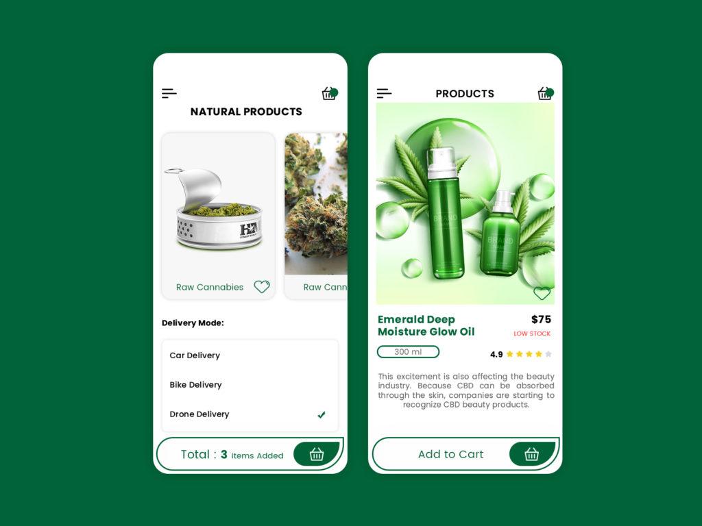 marijuana delivery app development