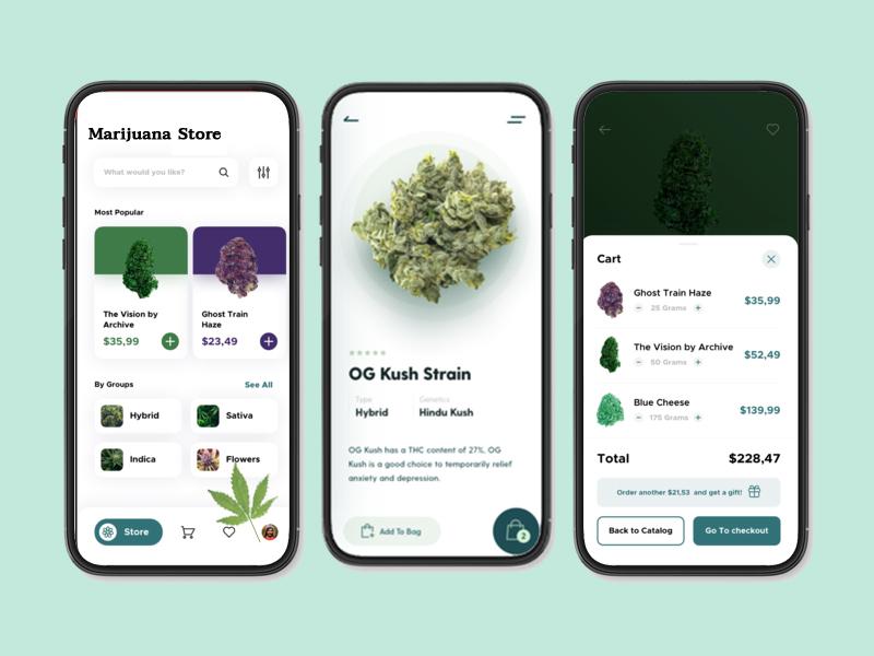 cannabis delivery app development