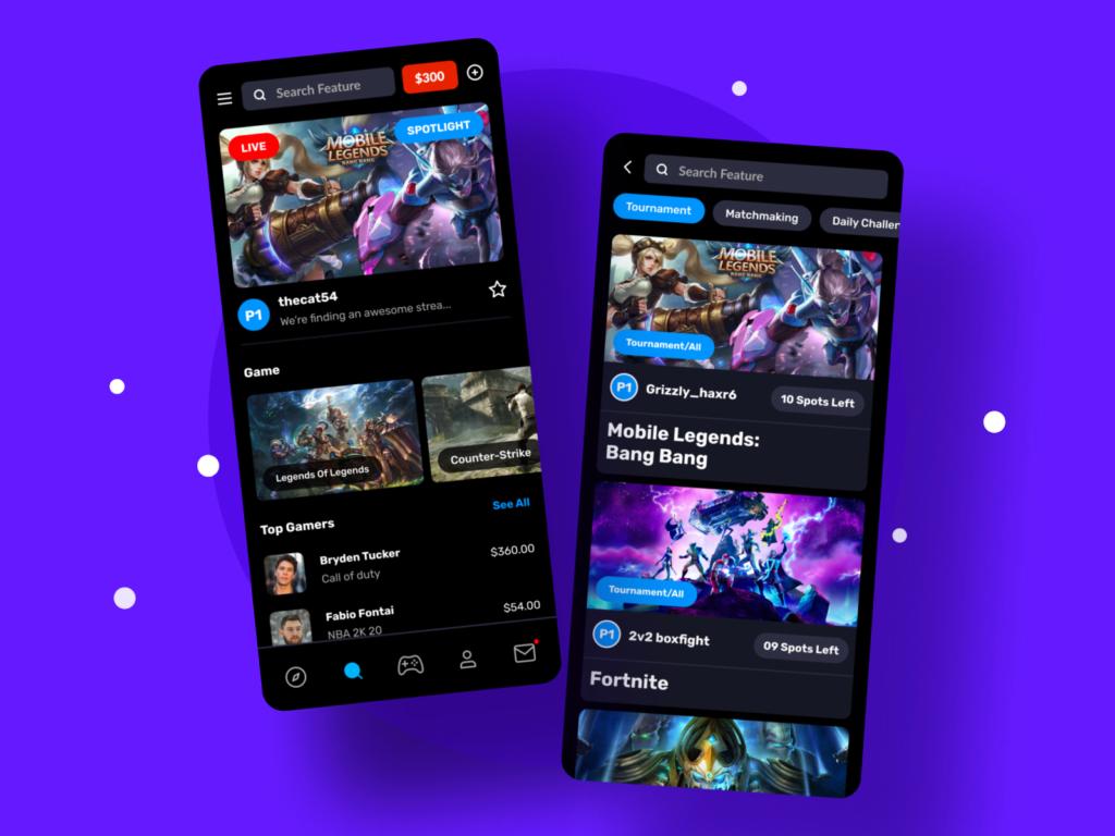 gaming training app development